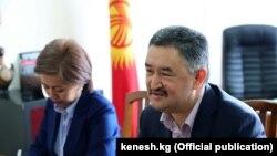 Алмазбек Батырбеков.