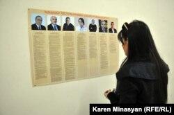 Armenia -- Presidential elections, 18Feb2013