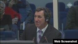 Andrej Demurenko svjedoči na suđenju Radovanu Karadžiću, 17. listopad 2012.