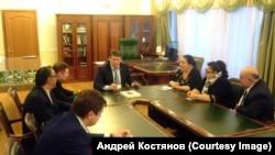 Встреча Н.Г. Деметер с администрацией Плеханово