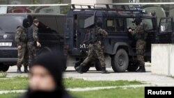 Policia turke, foto nga arkivi