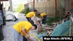 Volonteri na zadatku