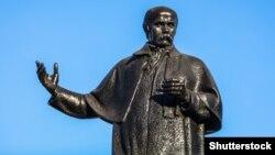 Помнік Шаўчэнку ў Львове. Ілюстрацыйнае фота