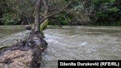 Rijeka Una, 12. septembar 2014.