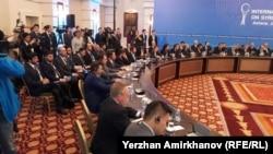 Переговоры по урегулированию сирийского конфликта. Астана, 23 января 2017 года.