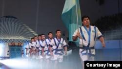 Турнир «Евразия барысы» по казакша курес. Тараз, 9 октября 2015 года.