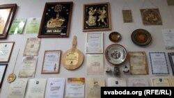 У памяшканьні Беларускага культурнага цэнтру ў Вісагінасе