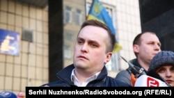 Заместитель генерального прокурора Украины по коррупционным вопросам Назар Холодницкий.