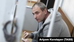Vladimir Anikeiev la o audiere a tribunalului
