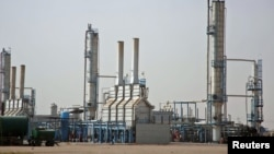 Iraq's Najaf oil refinery