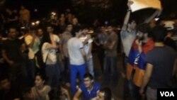 Ötən gecə Yerevanda