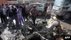 خودرویی بمبگذاری شده در شهرک صدر در بغداد منفجر شده است.