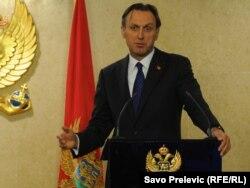 Ranko Krivokapić, predsjednik Skupštine Crne Gore, oktobar 2011.