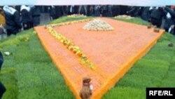 Gəncədə bişirilən ən böyük paxlava, mart 2009