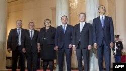 Участники саммита, 13 мая 2016 года