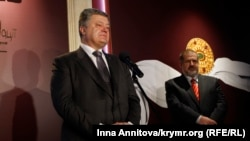 Петро Порошенко (зліва), Рефат Чубаров