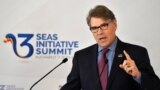 ABŞ-nyň energiýa sekretary Rik Perri (Rick Perry)