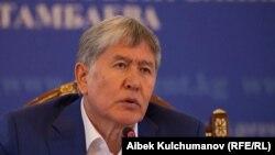 Алмазбек Атамбаев, 24 июля 2017 г.