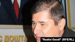 Tajikistan -- Rahmatillo Zoirov, the head of Social Democratic Party of Tajikistan, Dushanbe, 04Dec2011