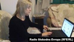 Јасмина Тодоровска, новинарка од Куманово.