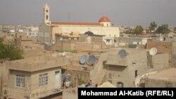 منظر عام لمركز قضاء الحمدانية في نينوى