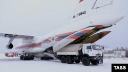 Ил-76 МЧС России. Иллюстративное фото.