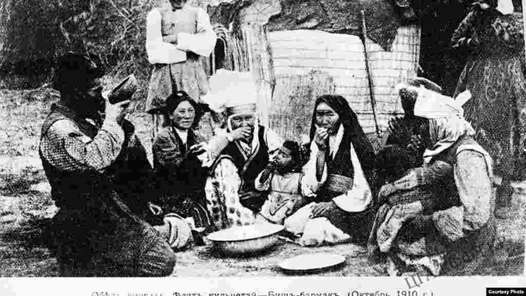 Переселенцы в Туркестане, Обед. 1910 год