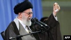İranın ali lideri leader Ayatollah Ali Khamenei