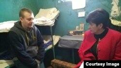 Виктор Агеев с Уполномоченной по правам человека Верховной Рады Украины Валерией Лутковской. Фото с официального сайта омбудсмена