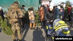 Кірмаш ёлак у Луганску, 26 сьнежня 2014