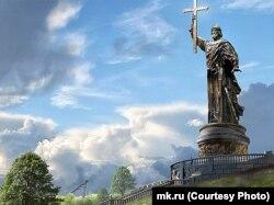Проект пам'ятника князю Володимиру, який хочуть встановити у Москві