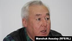 Қазақстан журналистер одағының жетекшісі Сейтқазы Матаев.