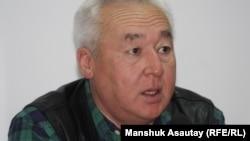Қазақстан журналистер одағының төрағасы Сейітқазы Матаев.