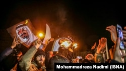 Protestçiler Saud Arabystanynyň Eýranyň paýtagtyndaky ilçihanasyna zabt etdiler.