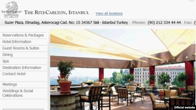 Ritz-Carlton Hotel в Стамбуле — место проведения Бильдербергской конференции в 2007 году