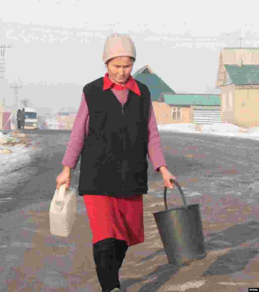 Бишкекские новостройки зимой #9