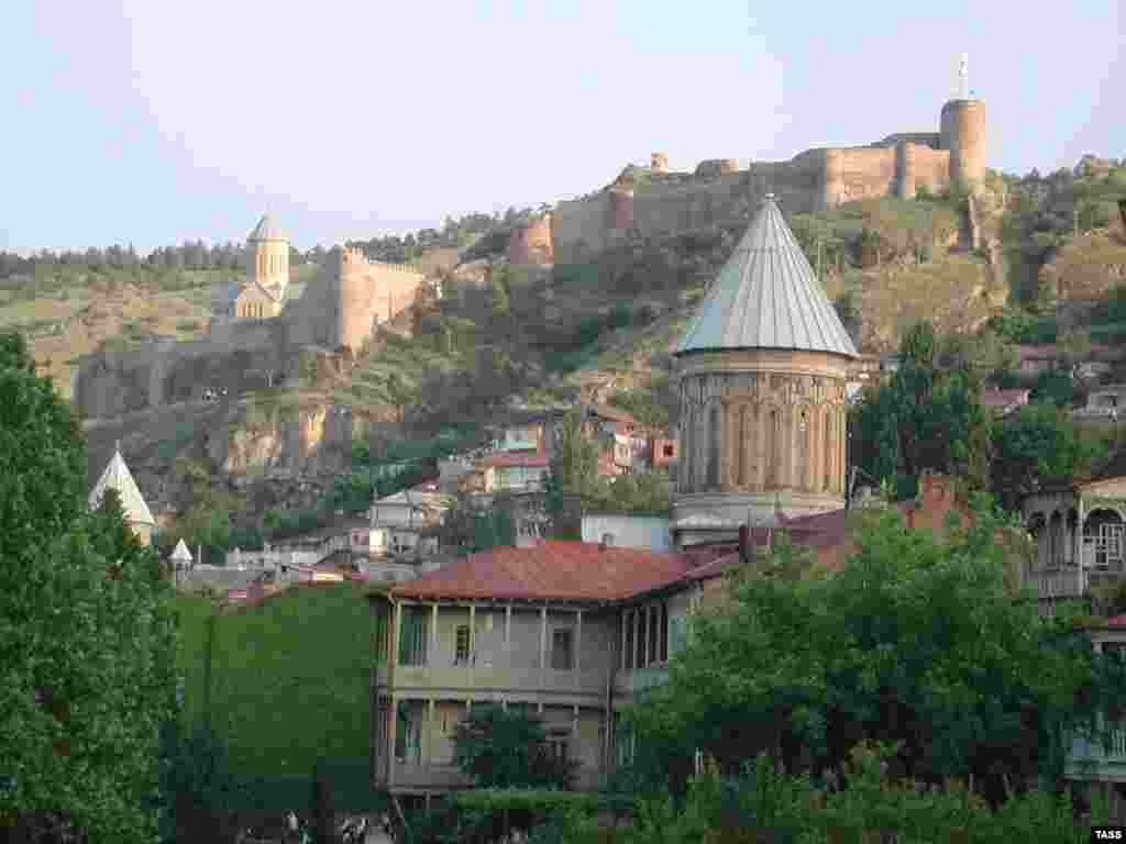A view of Tbilisi's old town