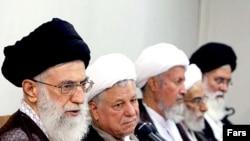 رهبر ایران، در جمع اعضای مجلس خبرگان رهبری