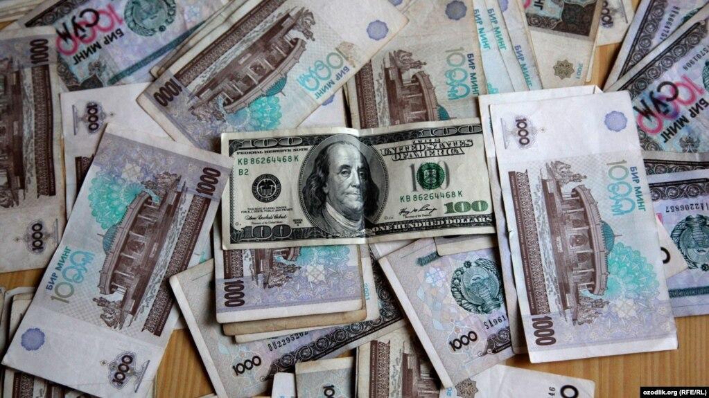курс доллара в узб