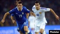 Матч Италия - Армения, Неаполь, 15 октября 2013 г.