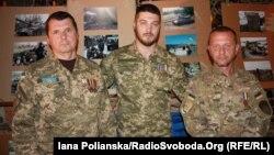 Демобілізовані бійці 128-ї окремої гірсько-піхотної Закарпатської бригади