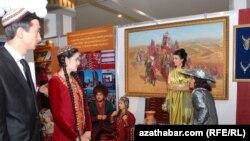Художественная выставка в Ашгабаде
