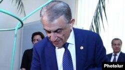Armenia -- Ara Babloyan, the newly elected speaker of the Armenian parliament