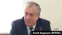 Министр внутренних дел Абхазии Аслан Кобахия