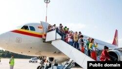 Өремчедән Казанга беренче рейс белән килгән Кытай туристлары