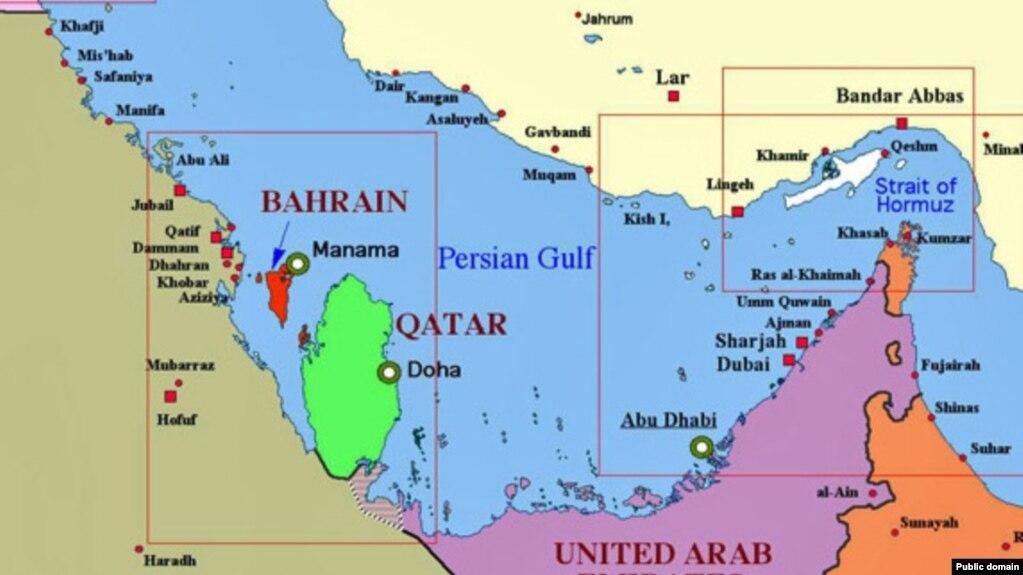 Saudi Arabia Bahrain Egypt UAE Cut All Ties With Qatar Citing - Bahrain interactive map