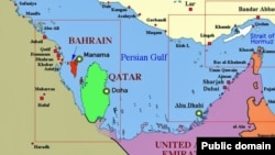Страны персидского залива, Катар - зеленый