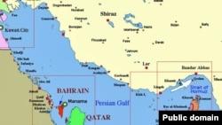 სპარსეთის ყურის რუკა