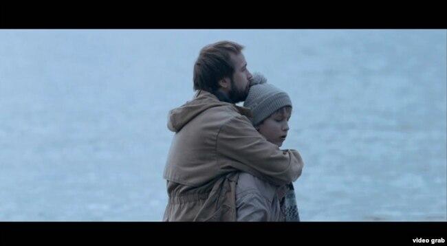 Кадр з кароткамэтражнага фільму «Спадарожнік», Беларусьфільм 2017
