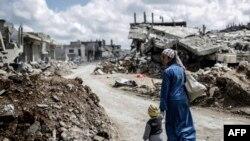 Руины в Кобани, Сирия. Иллюстративное фото.